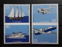 PORTUGAL - Açores : N° 411/14 (1991) Transports - Açores