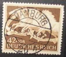 N°666E TIMBRE DEUTSCHES REICH OBLITERE - Usados