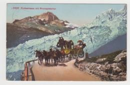 AB789 - SUISSE - Furkastrasse Mit Rhonegletscher - Attelage - - VS Valais