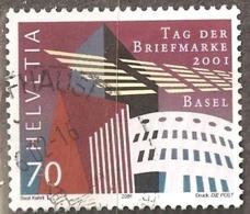 Switzerland: Single Used Stamp, Stamp Day, 2001, Mi#1777 - Suisse
