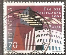 Switzerland: Single Used Stamp, Stamp Day, 2001, Mi#1777(2) - Suisse