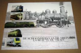 De Schoonheid Van De Trein** 4717/21**  La Beauté Du Train ** MNH  ( Belgique 2017 ) - Belgium
