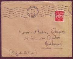 FRANCE - FM N° 12 Sur Lettre De Toulouse Pour Montferrant Oblit. 13/09/1952 - Franchise Militaire (timbres)