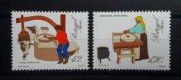 PORTUGAL - Açores : N° 424/25 (1993) Instruments à Moudre - Açores