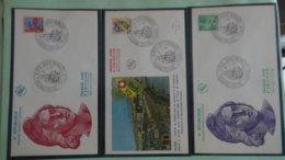 64 Enveloppes 1er Jour De France 1960 PORT OFFERT (lettre Verte)  Si Ce Lot Dépasse Les 10 Euros Soit 15cts/pièce - Briefmarken