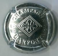 CAPSULE-CHAMPAGNE BARFONTARC DE N°18 Estampée Acier - Other