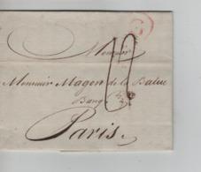 PR7592/ Précurseur LAC Daté De Gand 1783 Port 12 > Paris - 1714-1794 (Austrian Netherlands)