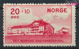 Norwegen 162 (kompl.Ausg.) Jahrgang 1931 Komplett Mit Falz 1931 Hospital (9350157 - Norwegen