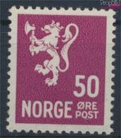 Norwegen 189 Mit Falz 1937 Freimarken (9362138 - Norwegen
