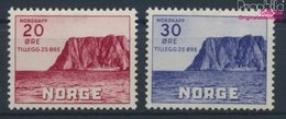 Norwegen 198-199 (kompl.Ausg.) Mit Falz 1938 Nordkap (9362143 - Norwegen