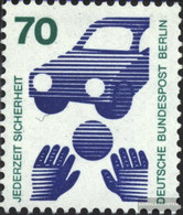 Berlin (West) 453Ra With Black Counting Number (complete Issue) Unmounted Mint / Never Hinged 1973 Accident Prevention - [5] Berlin