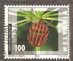 Switzerland: 1 Used Stamp From A Set, Insects, 2002, Mi#1805 - Suisse