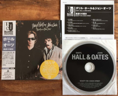 DARYL HALL JOHN OATES BEAUTY ON A BACK STREET Japanese CD Mini Sleeve W/ Inserts K2 Master RCA /BMG Japan See Imgs. Rare - Soul - R&B