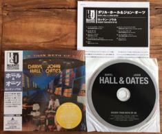 DARYL HALL JOHN OATES BIGGER THAN BOTH OF US Japanese CD Mini Sleeve W/ Inserts K2 Master RCA /BMG Japan See Imgs. Rare - Soul - R&B