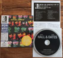 DARYL HALL JOHN OATES CHANGE OF SEASON Japanese CD Mini Sleeve W/ Inserts K2 Master RCA /BMG Japan See Imgs. Rare - Soul - R&B