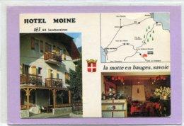 73  .LA    MOTTE  En  BAUGES  , Hôtel Restarant Bar  . - Frankreich