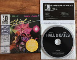 DARYL HALL JOHN OATES LIVETIME Japanese CD Mini Sleeve W/ Inserts K2 Master RCA /BMG Japan See Imgs. Rare - Soul - R&B