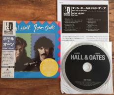 DARYL HALL JOHN OATES OOH YEAH Japanese CD Mini Sleeve W/ Inserts K2 Master RCA /BMG Japan See Imgs. Rare - Soul - R&B
