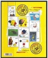 Blok 189** België 2011 - Humor Maakt Macht 4135/44** L'Humour Fait Le Force - Bloc XX MNH - Blocks & Kleinbögen 1962-....
