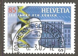 Switzerland: Single Used Stamp, 150 Years Of Technical High Scool, 2005, Mi#1913 - Suisse