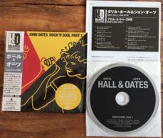DARYL HALL JOHN OATES ROCK & SOUL PART 1 Japanese CD Mini Sleeve W/ Inserts K2 Master RCA /BMG Japan See Imgs. Rare - Soul - R&B