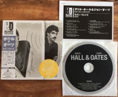 DARYL HALL JOHN OATES VOICES Japanese CD Mini Sleeve W/ Inserts K2 Master RCA /BMG Japan See Imgs. Rare - Soul - R&B