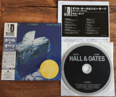 DARYL HALL JOHN OATES X-STATIC Japanese CD Mini Sleeve W/ Inserts K2 Master RCA /BMG Japan See Imgs. Rare - Soul - R&B
