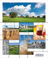 Blok 202** Belgische Streken De Condroz 4280/84** / La Belgique Des Régions - Le Condroz - Blocks & Sheetlets 1962-....