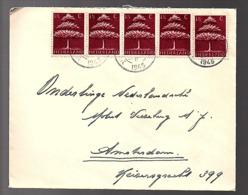 's-Hertogenbosch  18.7.45 > Ned. MOLEST Verzek. Mij (oorlogsclaims)  (FL-47) - 1891-1948 (Wilhelmine)