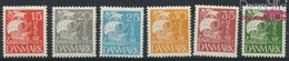 Dänemark 168-173 (kompl.Ausg.) Mit Falz 1927 Karavelle (9350201 - 1913-47 (Christian X)
