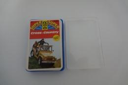 Speelkaarten - Kwartet, Cross-Country, Nr 281, Schmid - Hemma , Vintage - Cartes à Jouer Classiques