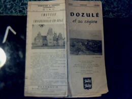 Vieux Papier Dépliant Touristique Publicitaire Dozulé Et Sa Région (Calvados) Année ? - Reiseprospekte