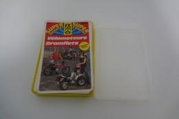 Speelkaarten - Kwartet, - Velomoteurs - Bromfiets, Hemma 216, *** - Vintage - Speelkaarten