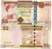 Libya - 50 Dinar 2008 UNC Lemberg-Zp - Libië
