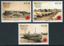 Malta 2014 ** Centenario I Guerra Mundial (3v) 01812/13 - Malta