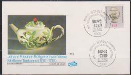 BRD FDC 1982 Nr.1118 300.Geb. Johann Friedrich Böttger  ( D 321 )günstige Versandkosten - FDC: Buste