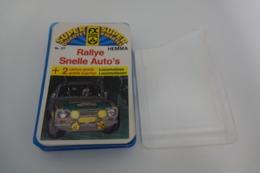 Speelkaarten - Kwartet, Rallye Snelle Autos, Nr 217, Schmid Hemma , *** - - Speelkaarten