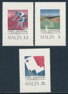 Malta 1975 ** Aniversario De La Republica (3 Valores) 00516/18 - Malte