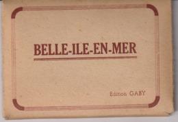 CPAF 19 - BELLE-ILE-EN-MER - 12 PHOTOGRAPHIES - EDITION GABY - Belle Ile En Mer