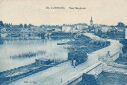 Louhans (71 - Saône Et Loire) Vue Générale - Attelages - édit Bey N° 332 Circulée 1923 - Louhans