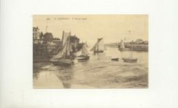 CPA // Honfleur - A Marée Basse - Honfleur