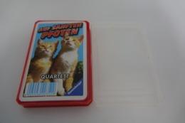 Speelkaarten - Kwartet, Auf Sanften Pfoten , Ravensburger, *** - - Speelkaarten