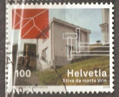 Switzerland: 1 Used Stamp From A Set, Architecture, 2009, Mi#2112 - Suisse
