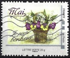 France - Montimbramoi Lettre Verte 20 G ( Bouquet De Fleurs ) - France