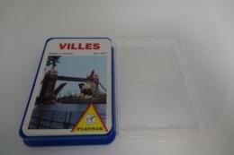 Speelkaarten - Kwartet, Villes , Piatnik-Wien Nr 4807, Vintage, *** - - Speelkaarten