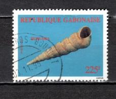 GABON  N° 782C  OBLITERE  COTE 7.50€   COQUILLAGE ANIMAUX - Gabon