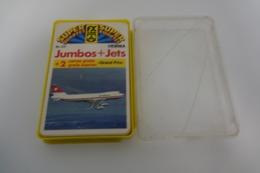 Speelkaarten - Kwartet, Jumbos + Jets, Nr 124, FX Schmid Hemma, *** - - Speelkaarten
