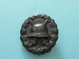 Médaille Allemande Des Blessés 1914 1918 - 1914-18