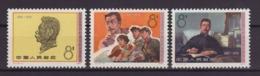 1976, CHINA. 3 VALUES ΜΝΗ. - 1949 - ... Volksrepublik