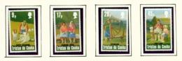 TRISTAN DA CUNHA  - 1984 Wool Industry Set Unmounted/Never Hinged Mint - Tristan Da Cunha